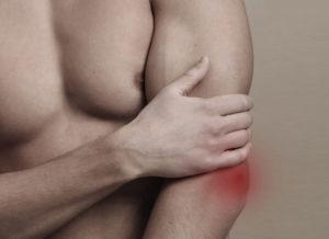 локтевой сустав болит