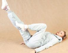 зарядка при артрозе коленного сустава