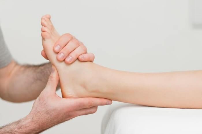 восстановление после разрыва связок голеностопа
